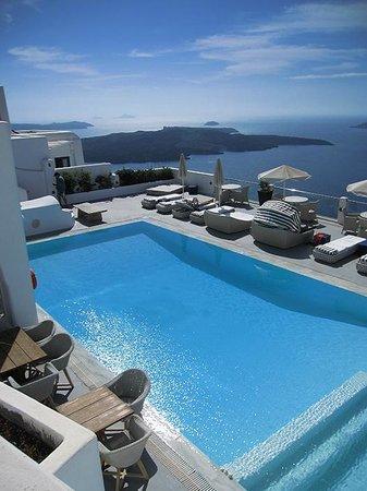 Belvedere Santorini : The main pool