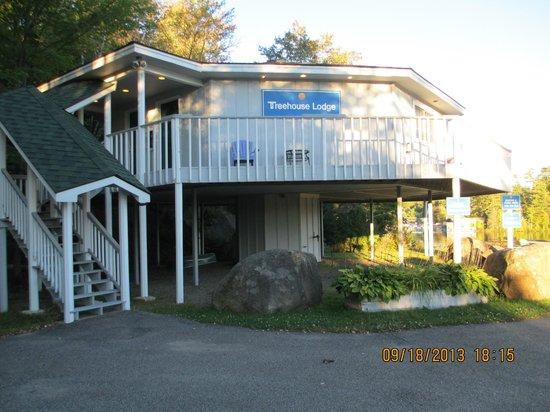 Quality Inn Lake Placid: Treehouse Quarters