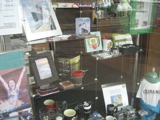 Coleraine Visitor Information Centre: Merchandise