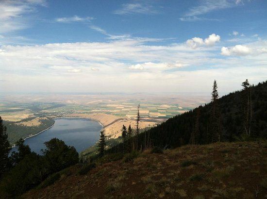 Wallowa Lake Resort: Wallowa Lake - view from the Tram