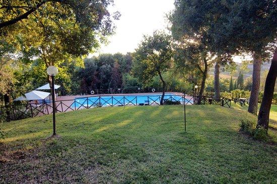 Castel Pietraio pool