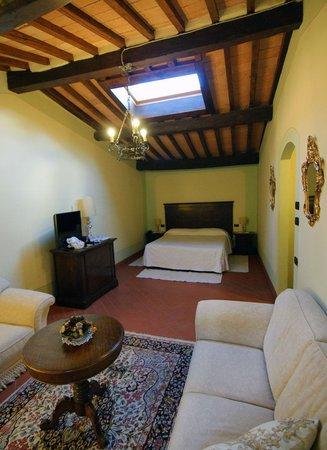 Castel Pietraio: Double superior room