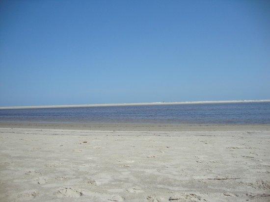 Itaguare: Praia de novela....