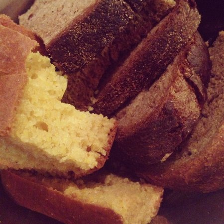 Istanbul Culinary Institute : Complimentary bread -- don't pass on the corn bread it's amazing!