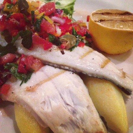 Istanbul Culinary Institute : Grilled Sea Bass