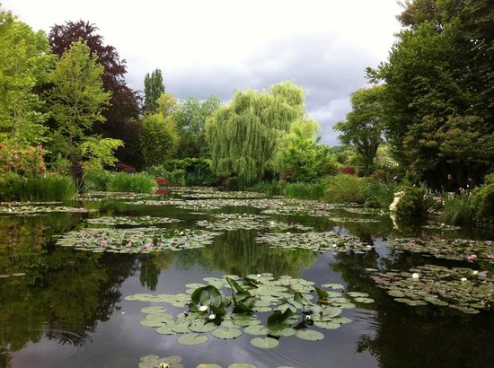 Fat Tire Tours Paris: Monet's Garden
