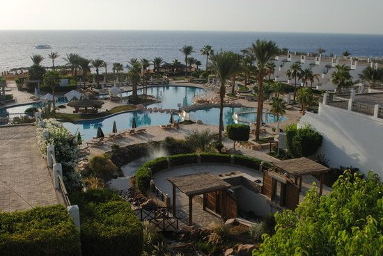 Hilton Sharm Waterfalls Resort: View from room 2401