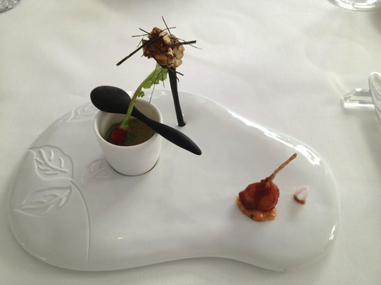 Epicure : Chef's appetizer plate
