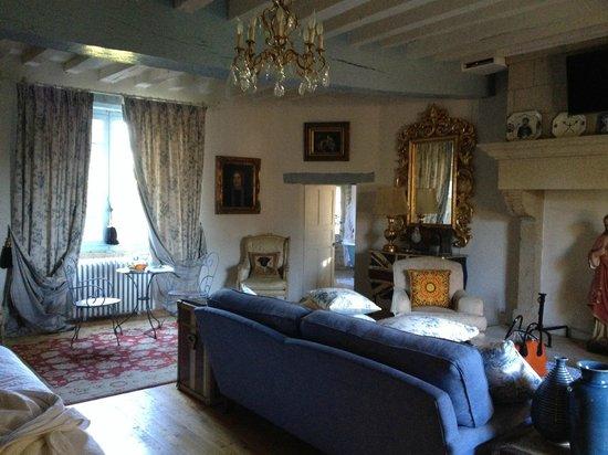 Chateau de Roussac: Suite