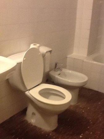 Hotel Tarongeta : Toilet