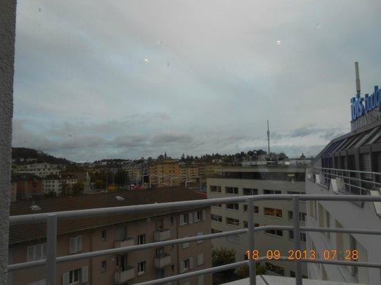ibis budget Luzern City: Uitzicht