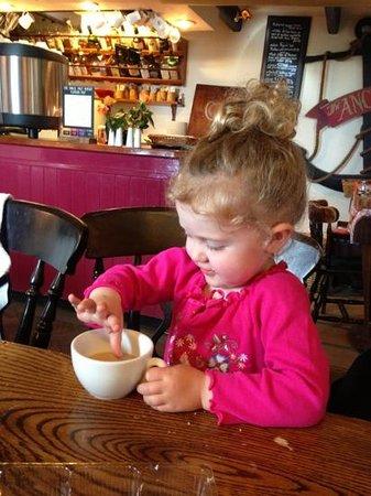 Halzephron Inn: a day on the beach then a warm up with a perfect cream tea