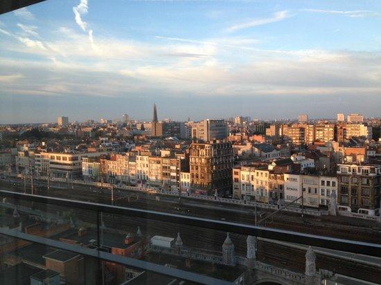 Lindner Hotel & City Lounge Antwerpen: Vista da janela