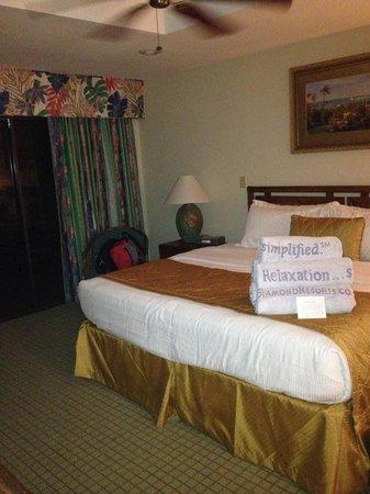Polynesian Isles Resort: Bedroom