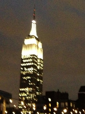Shelburne NYC–an Affinia hotel: View from the rooftop bar