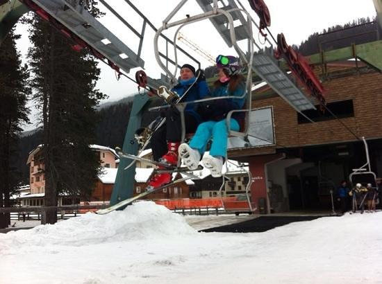 Hotel San Matteo: ski lift santa cat