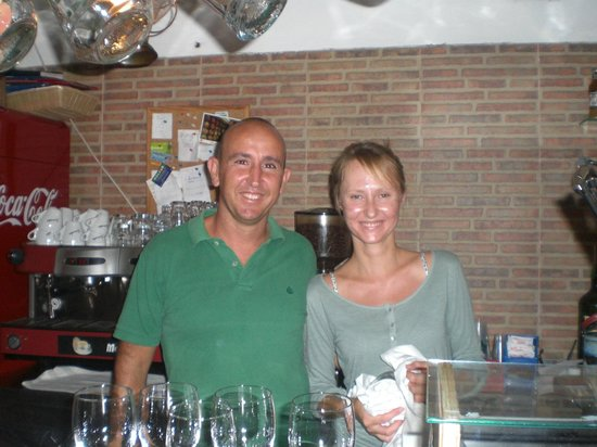 Restaurante La Chalana : lo staff
