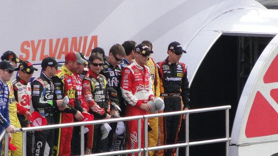 New Hampshire Motor Speedway : driver line up