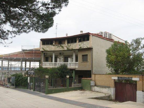 Hotel Rural el Castillo: EL CASTILLO Exterior hotel 2012-11