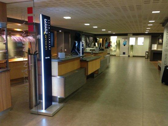 Novotel Brussels Airport : Recepção