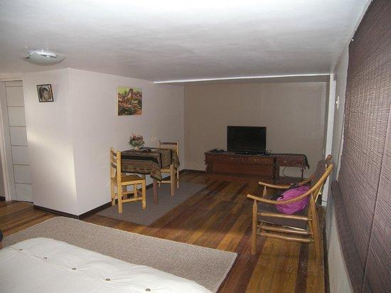 GringoWasi Bed and Breakfast: nuestra habitación