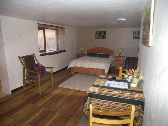 GringoWasi Bed and Breakfast: de nuevo nuestra habitación