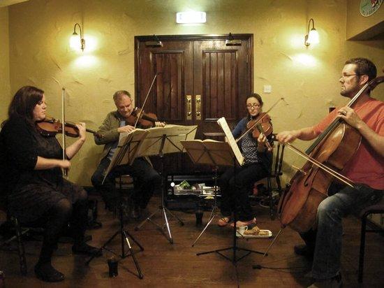 The Narrow Boat: Skipton Building Society Camerata string quartet
