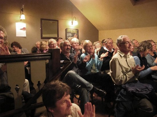 The Narrow Boat: All seats were sold, the audience loved it