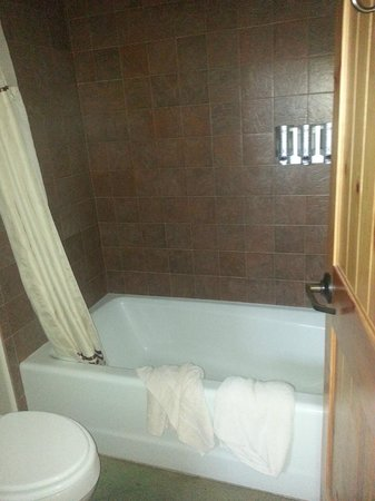 Ojo Caliente Mineral Springs Resort and Spa: Bathroom again