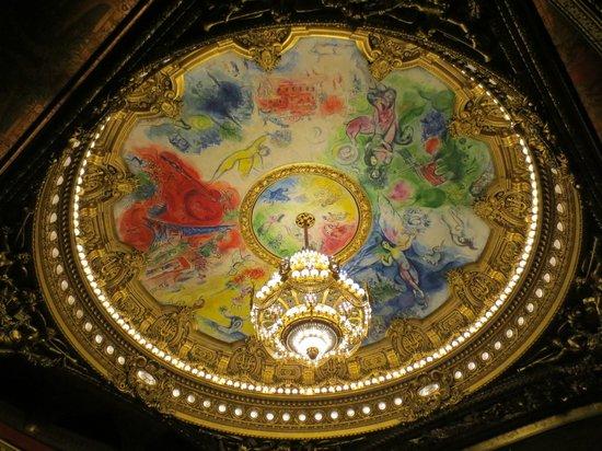 Palais Garnier - Opéra National de Paris: Chagall Ceiling