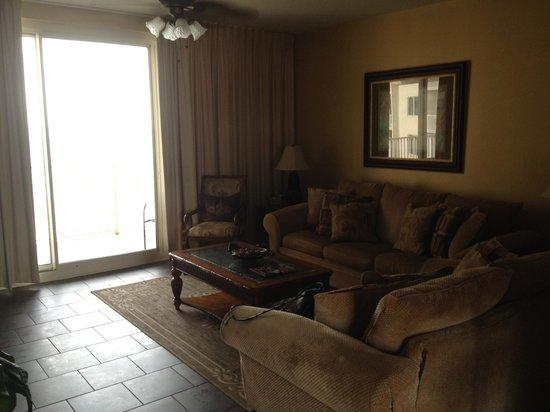 Shores of Panama Resort: living room
