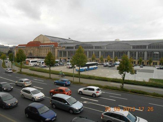 A&O Leipzig Hauptbahnhof: Uitzicht