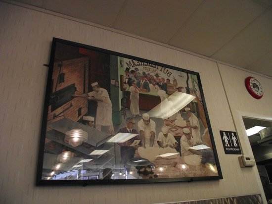Butter Cream Bakery & Diner: Photo on wall