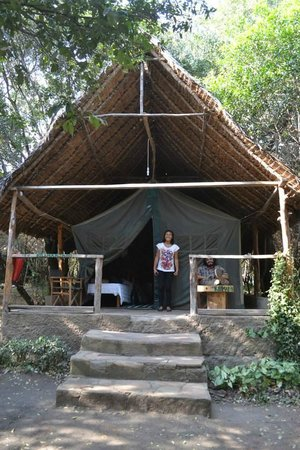 Enchoro Wildlife Camp: our sleeping quarters