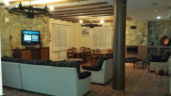 Casa Rural Aguas del Venero: salon