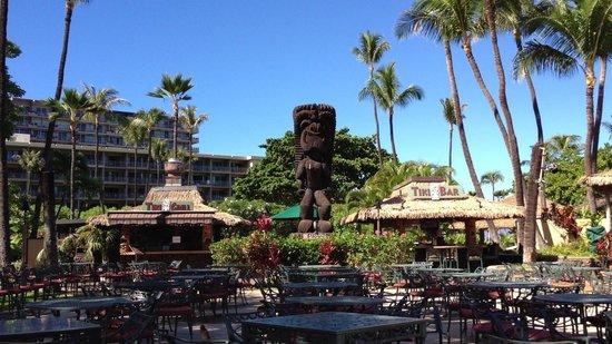 Tiki Terrace Restaurant: Patio View