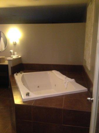 Belamere Suites Hotel : Large Bath Area