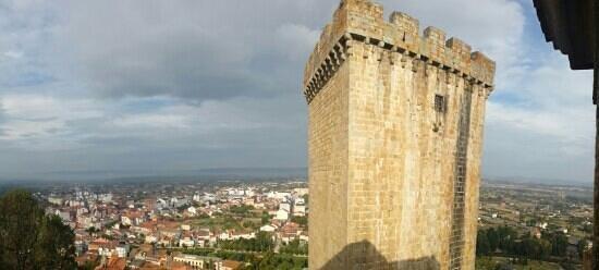 Parador de Monforte de Lemos: vista desde ventana