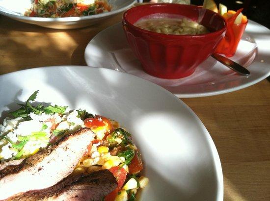 Vinaigrette: off the cobb salad