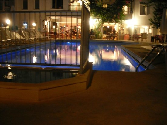 Serhan Hotel: View of pool and hotel