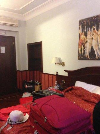 Hotel Cavour: quarto