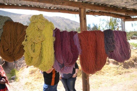 Media Luna Tourism Circuit: Marleni's naturally dyed textiles