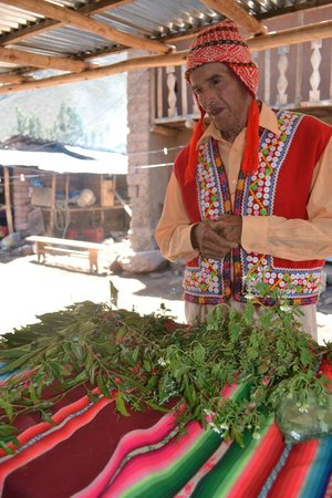 Media Luna Tourism Circuit: Divorcia and his medicinal herbs