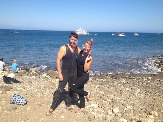 Santa Barbara Adventure Company: We still had time to do a little snorkeling after kayaking & hiking!