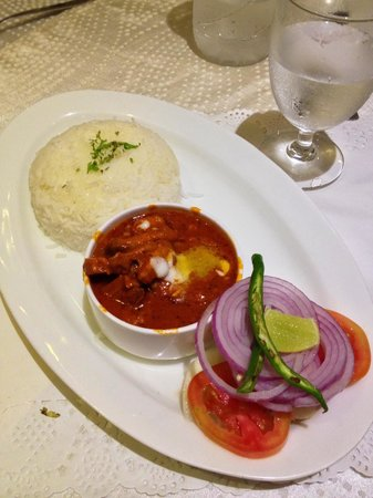 White Pearl Suites : One of the dishes