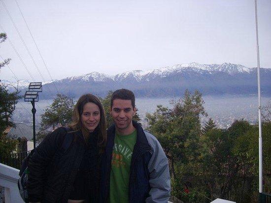 เนินเขาซานคริสโตบาล: Cerro San Cristobal - topo