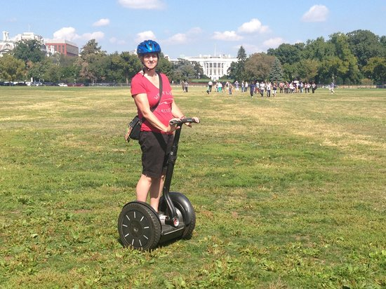 Private DC Segway Tours: Loving it!!