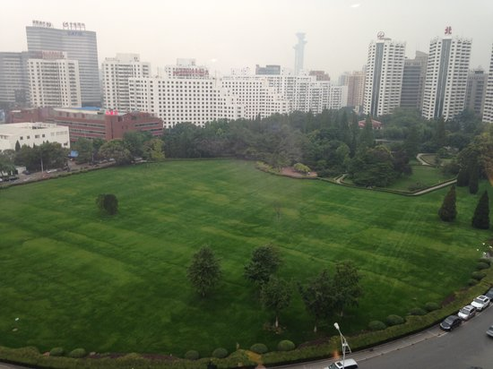 V- Continent Beijing Parkview Wuzhou: park view from window