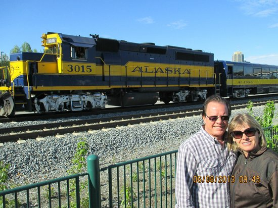 Anchorage City Trolley Tours : Saida para Seward