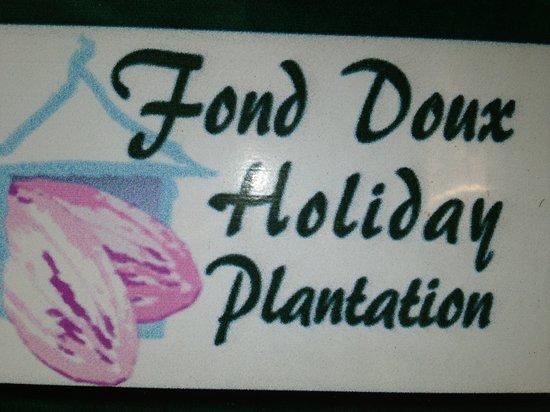 Jardin Cacao Restaurant: Fond Doux Holiday Plantation